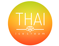THAI icecream | logo