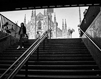 Street Photography in Milan.
