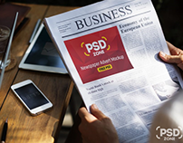 25+ Best Newspaper Advertisement PSD Mockup Templates