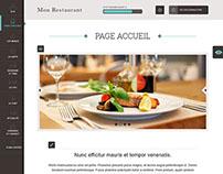 Restaurant, backend design