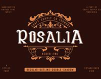 CS Rosalia - Vintage Font (Free Download)