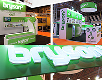Construction Week 2015 - Bryson Exhibition Stand