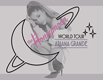 Set Design for Ariana Grande's The Honeymoon Tour