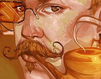 -Detective Fox- Character design