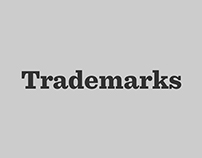 Variety of Trademarks and Logos