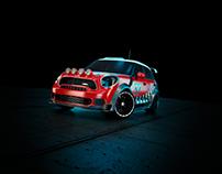 WRC Mini Cooper - 3D Render