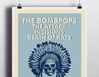 Bombpops Tour Poster