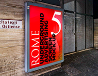 Rome Underground Ad Screen Mock-Ups 4