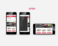 Mobile site optimization