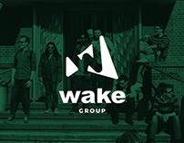 WAKE GROUP - Branding