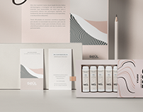 Seúl Cosmetics - Branding and Packaging
