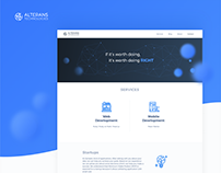 Alterans Technologies | website & branding