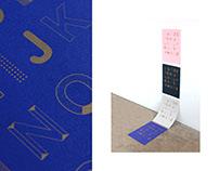 Alphabet — Typeface / Print