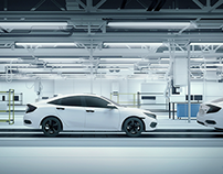 Honda / Environment design