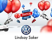 VW Lindsay Saker May Hatch Fest Digital campaign