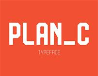 PLAN_C typeface