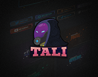 Livestream pack for Tali