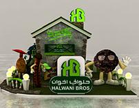 Halwani Bros Activation Booth