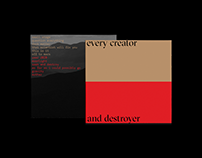 Every Creator and Destroyer
