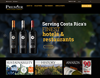 Web & Mobile Design - Wine Brand