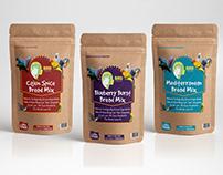 Bird Food package Label Design