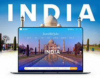 Incredible India Website Redesign