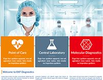 EKF Diagnostics Website Redesign