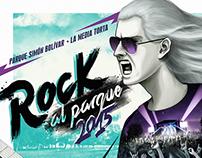 Todos somos rock - Propuesta Afiche rock al parque 2015