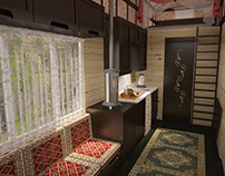 Gypsy Wagon Interior Design
