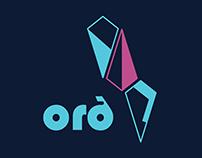 orð - screen printed chair