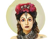 Digital art & watercolor