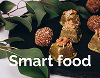 Smart Food - website for healthy sweets