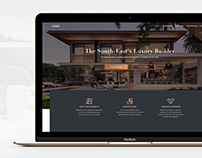 landing page. House