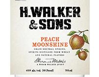 H. Walker & Sons Label Illustrations by Steven Noble