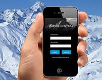 Alpine Central - Mobile Mockups
