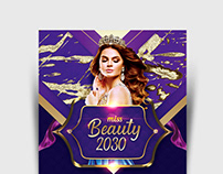 Beauty Contest Flyer