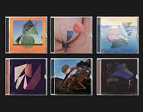 36DOT Typographic Album Covers