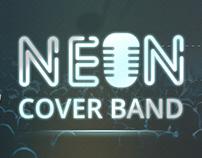 NEON Caver Band Logo Design and Branding
