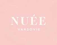 Branding for a clothing brand Nuee.