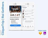 CliqueTrip: a Group Travel App UX Case Study