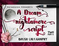 Nightamore Free Font