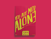 You Are Not Alone - You Are Not Alone Poster Series