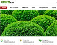 Landscape Design Company Joomla Template