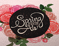 SPRING TYPOGRAPHY / posters