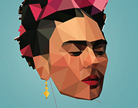 Frida Low poly