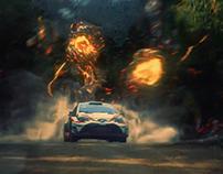 Toyota Gazoo - Monters VS Samurai