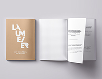 Laumeier Sculpture Park Field Guide - Print Design