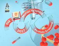 2017 SVA Motion Graphics Portfolio Screening Opener