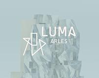 LUMA Arles — Visual identity