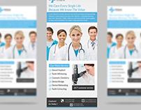 Medical Rack Card Design